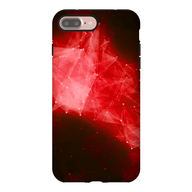 Red Space Nebula iPhone 7 Series Tough Case