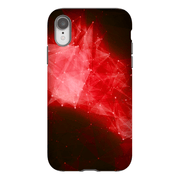 Red Blast Space iPhone X-XS Max Tough Case