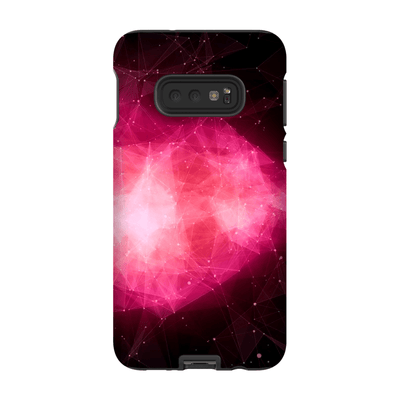 Nebula Space Pink Blush Galaxy 10 Series Tough Case - Purdycase