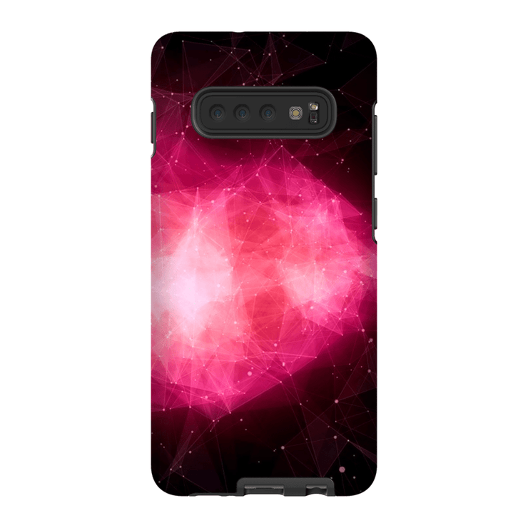 Nebula Space Pink Blush Galaxy 10 Series Tough Case