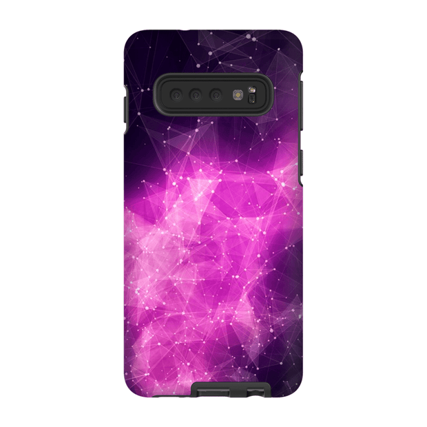 Constellation Purple Galaxy 10 Series Tough Case - Purdycase