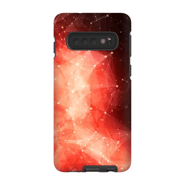 Orange Explosion Constellation Galaxy S10 Series Tough Case - Purdycase