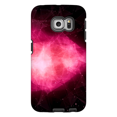 Pink Abstract Nebula Galaxy S6 Edge and S6 Edge Plus