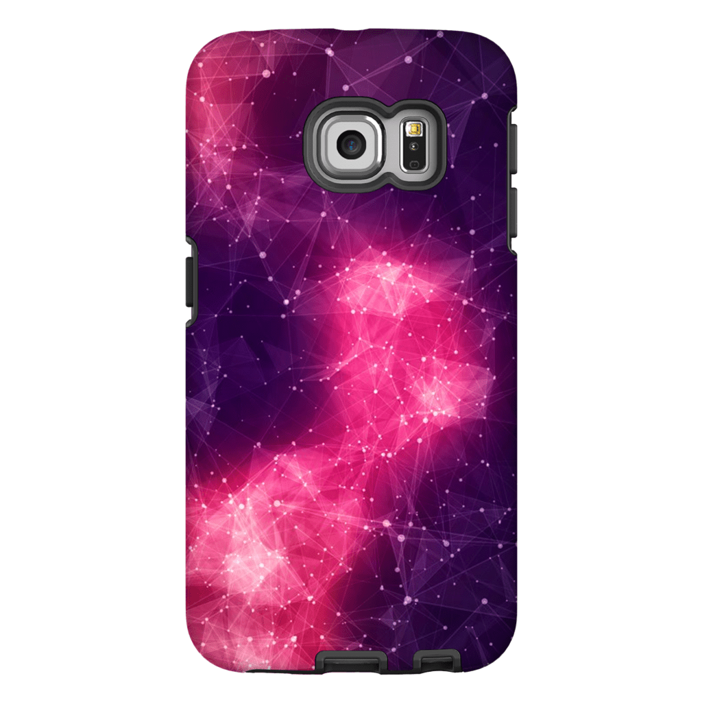 Abstract Purple Space Galaxy S6 Edge and S6 Edge Plus - Purdycase