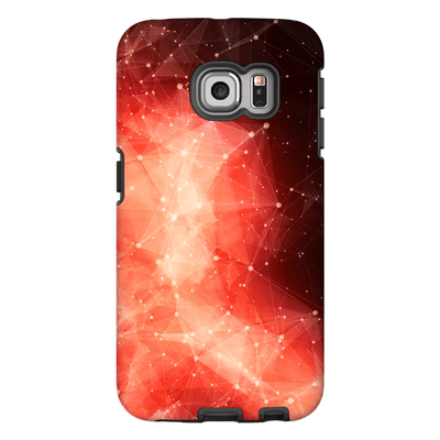 Orange Constellation Space Galaxy S6 Edge and S6 Edge Plus - Purdycase