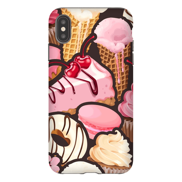 Strawberry Medley iPhone X-XS Max Tough Case