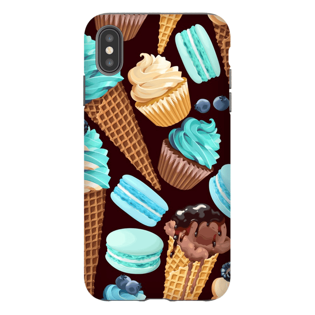 Turquoise SweetTreat Medley iPhone X-XS Max Tough Case