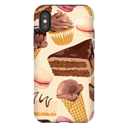 Chocolate Sweet Medley iPhone X-XS Max Tough Case