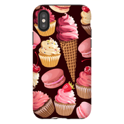 Strawberry Sweet Treat Medley iPhone X-XS Max Tough Case