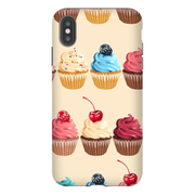 Assorted Cupcake Treats iPhone X-XS Max Tough Case