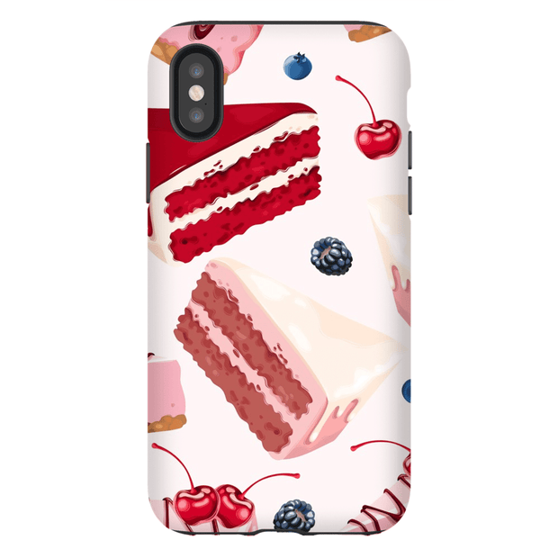 Velvet Red Sweets iPhone X-XS Max Tough Case