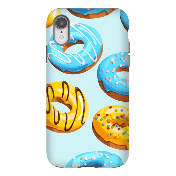 Blue Glazed Donut iPhone X-XS Max Tough Case