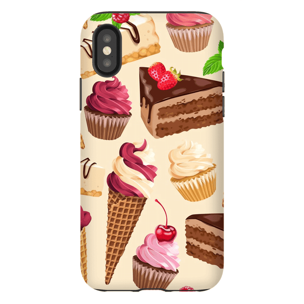 Cherry Top Sweets  iPhone X-XS Max Tough Case