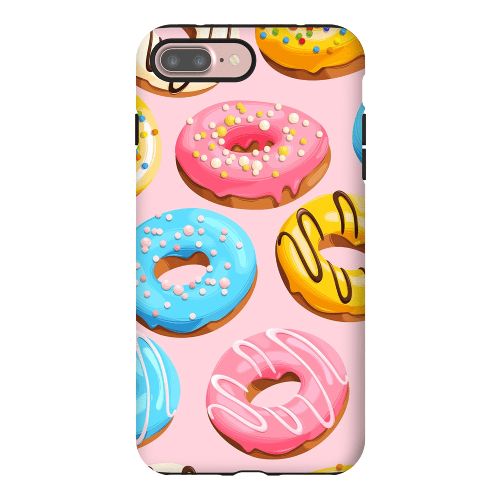 PinkBlue Donut Medley iPhone 7 and 7 Plus Tough Case - Purdycase