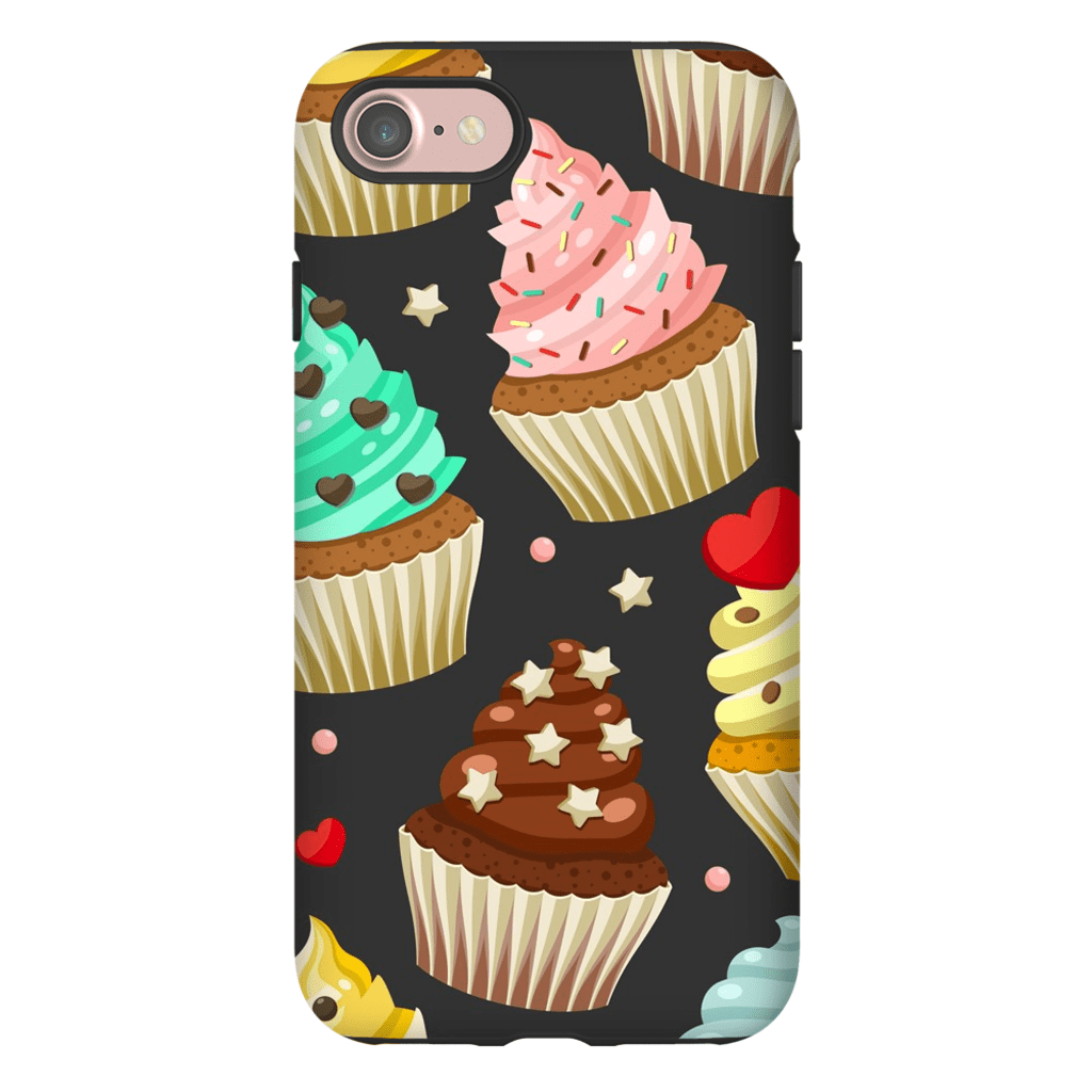 Sprinkled Cupcake Treats iPhone 7 and 7 Plus Tough Case - Purdycase
