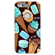 Google Pixel X- 2XL Turquoise Dessert Tough Case