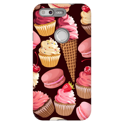 Google Pixel X - 2XL Strawberry Dessert Tough Case - Purdycase