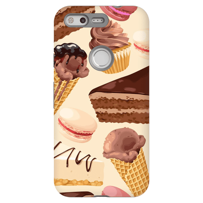 Google Pixel X - 2XL Chocolate Dessert Tough Case - Purdycase