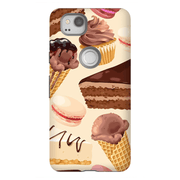 Google Pixel X - 2XL Chocolate Dessert Tough Case