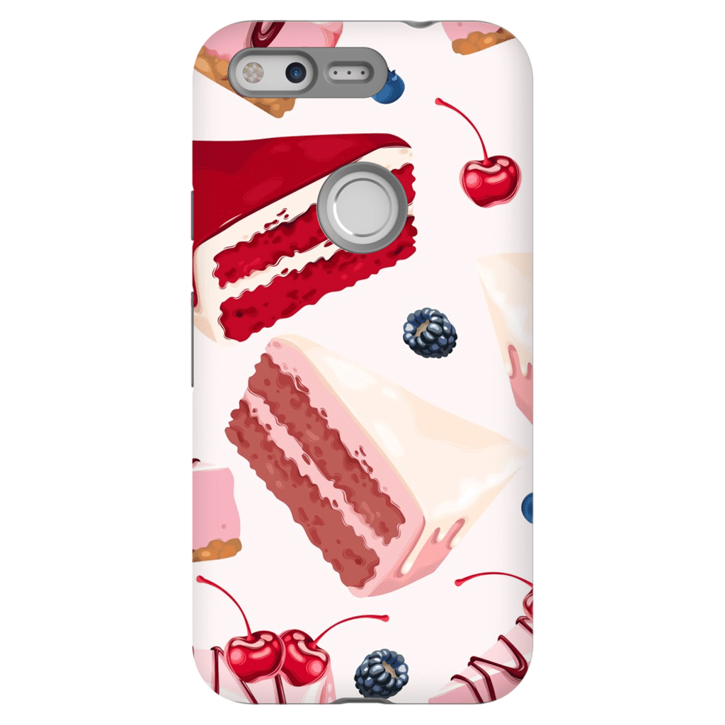 Google Pixel X - 2XL Velvet Cake Tough Case - Purdycase