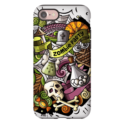 Zombie Party Halloween Galaxy A3 - S10 Series Tough Case