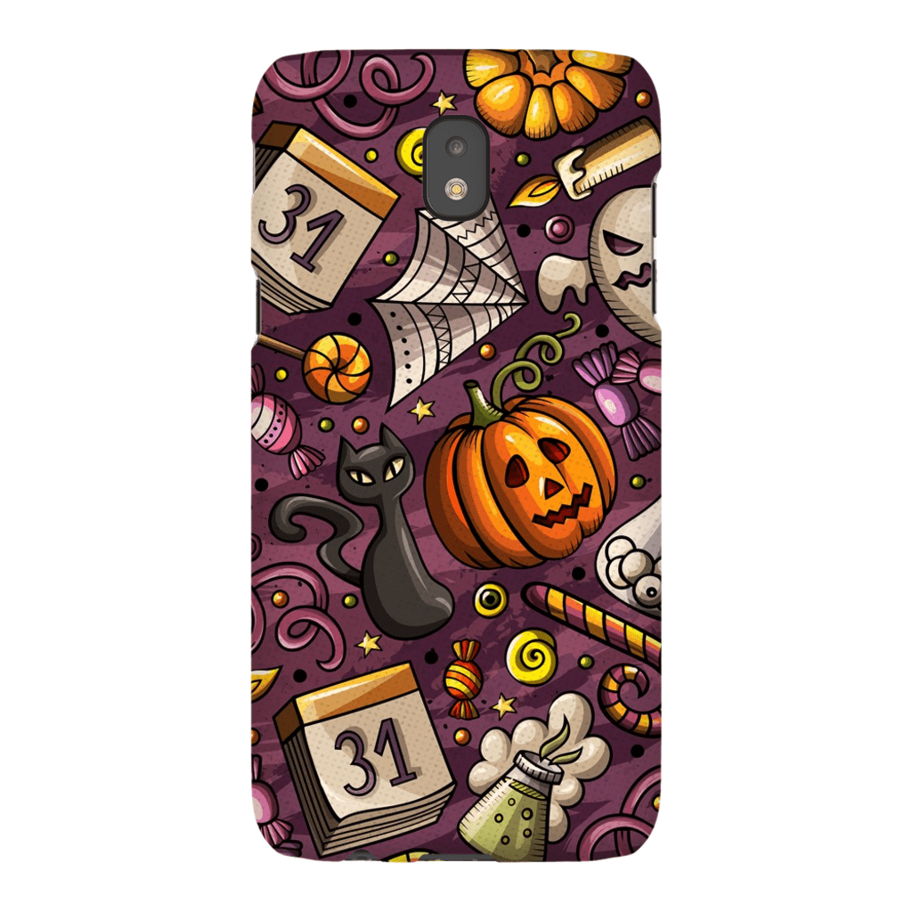 Ghosts and Goblins Halloween Galaxy A3 - S10 Series Tough Case - Purdycase