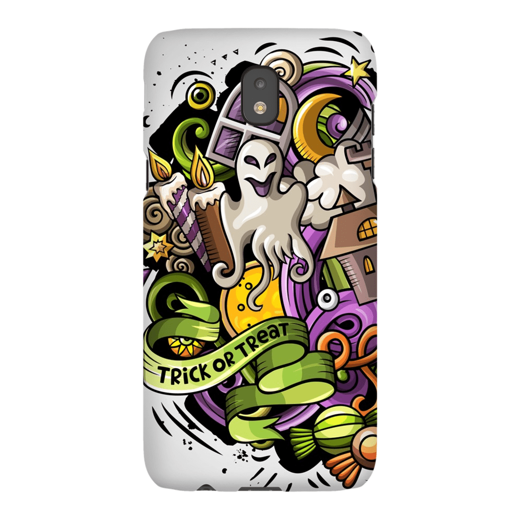 Trick or Treat Halloween Galaxy A3 - S10 Series Tough Case - Purdycase