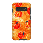 Bright Orange Pumpkin Galaxy A3 - S10 Series Tough Case
