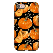 Black Pumpkin Spice iPhone 5-XS Max Series Tough Case