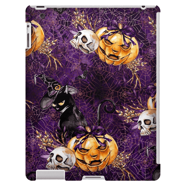 Sneaky Black Cat Halloween iPad Mini 3/4, IPadMini 1 and iPadMini 4 Tablet Case