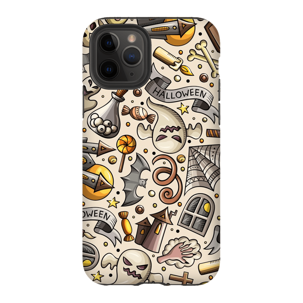 Spooky Ghosts Halloween iPhone 11 Pro Series - Purdycase