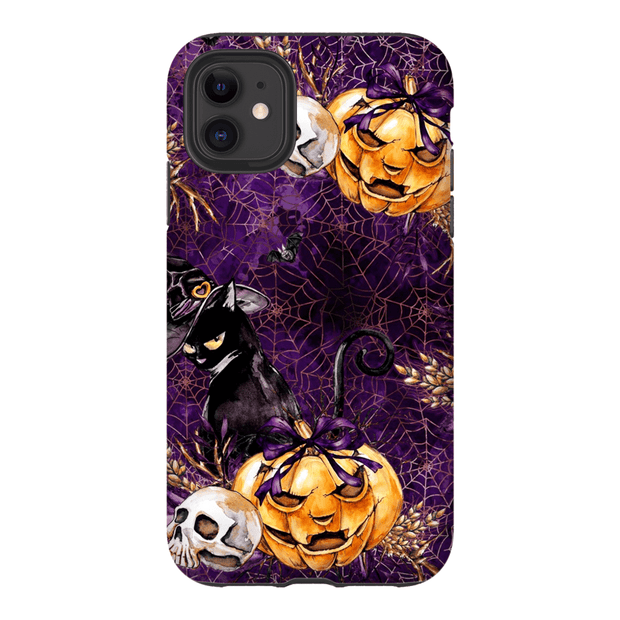 Black Cat Halloween iPhone 11 Pro Series