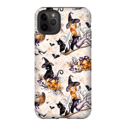 White Pinup Halloween iPhone 11 Series