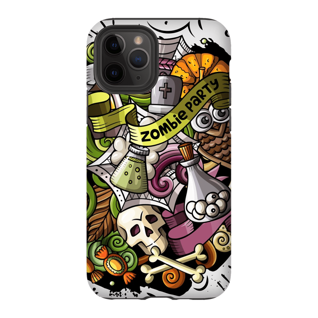 Zombie Party Halloween iPhone 11 Series - Purdycase