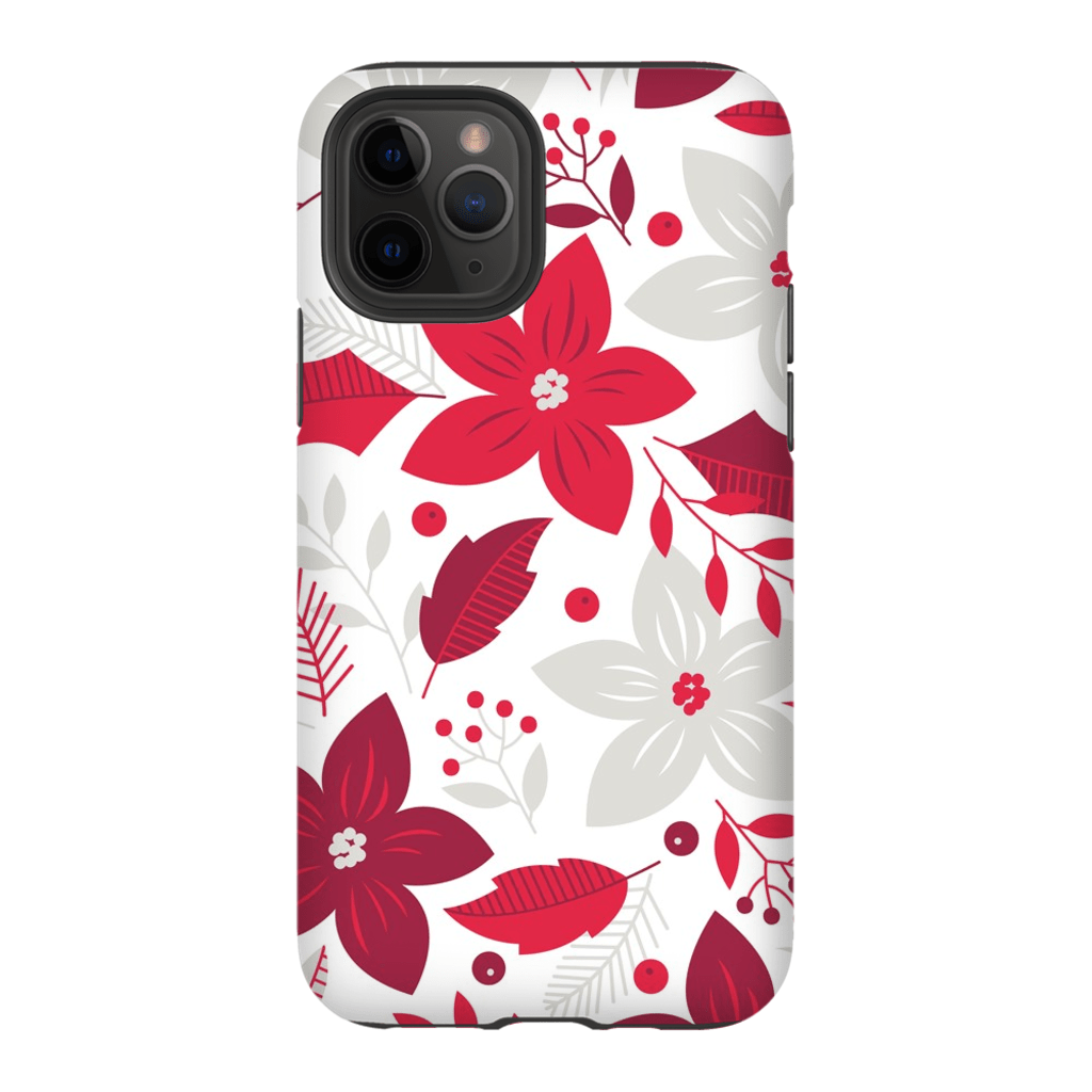 Christmas Floral iPhone 11 Series - Purdycase