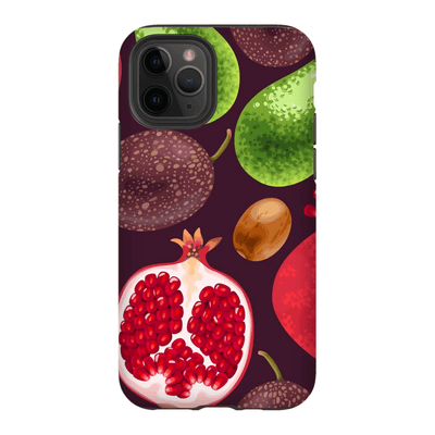 Fig Pomegranate iPhone 11 Series - Purdycase