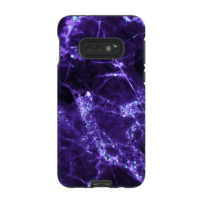 Midnight Purple Marble Galaxy S10 Series