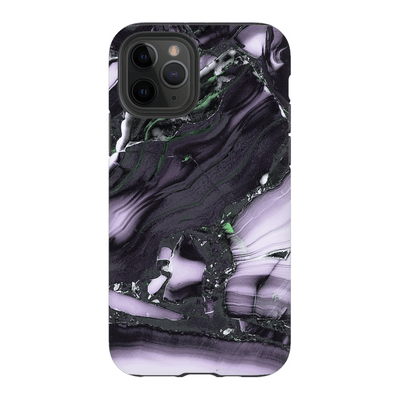 Black Purple Marble iPhone 11 Series