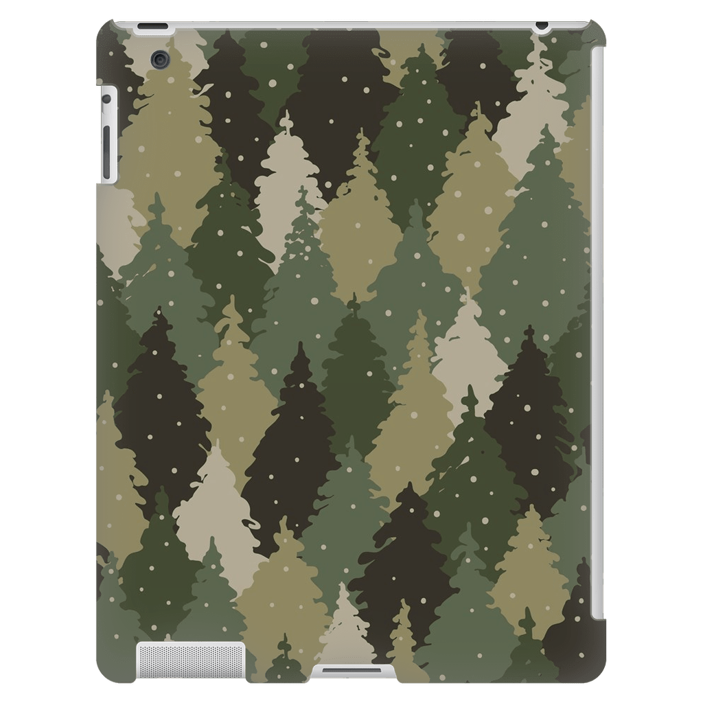 Forest Army Camo iPad 3/4 Mini, Tablet Case - Purdycase