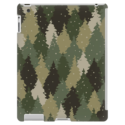 Forest Army Camo iPad 3/4 Mini, Tablet Case