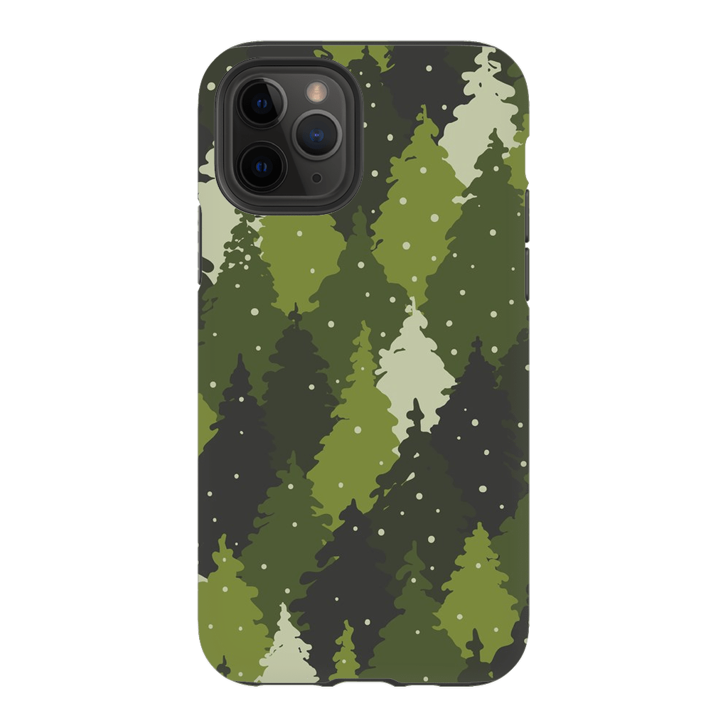 Forest Camo Green iPhone 11 Series Tough Case - Purdycase