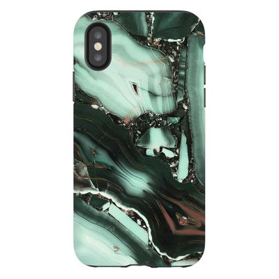 Green Marble Galaxy iPhone X-XS Max Series