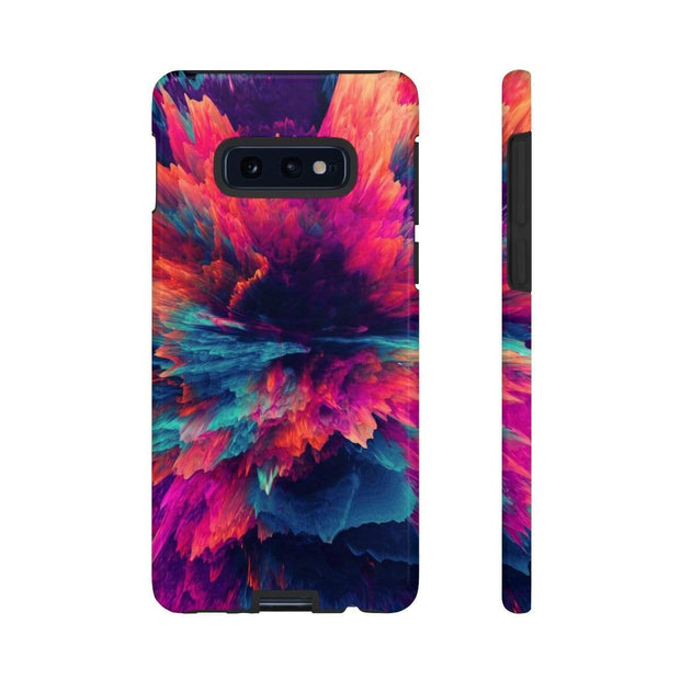 3D Texture Galaxy 10 Series Tough Case - Purdycase