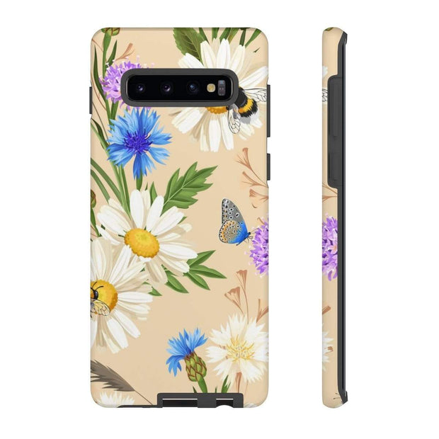 Butterfly Daisy Galaxy 10 Series Tough Case