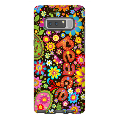 60s Flower Power Galaxy Note 8-10 Plus Series
