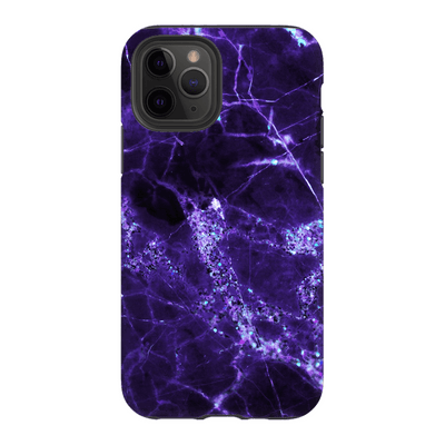 Midnight Purple Marble iPhone 11 Series