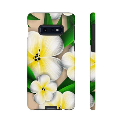 Tropical Plumeria Galaxy 10 Series Tough Case - Purdycase
