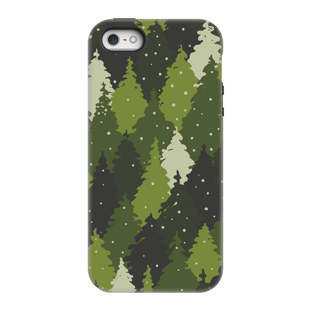 Forest Green Camo iPhone 5/5s/SE Case - Purdycase
