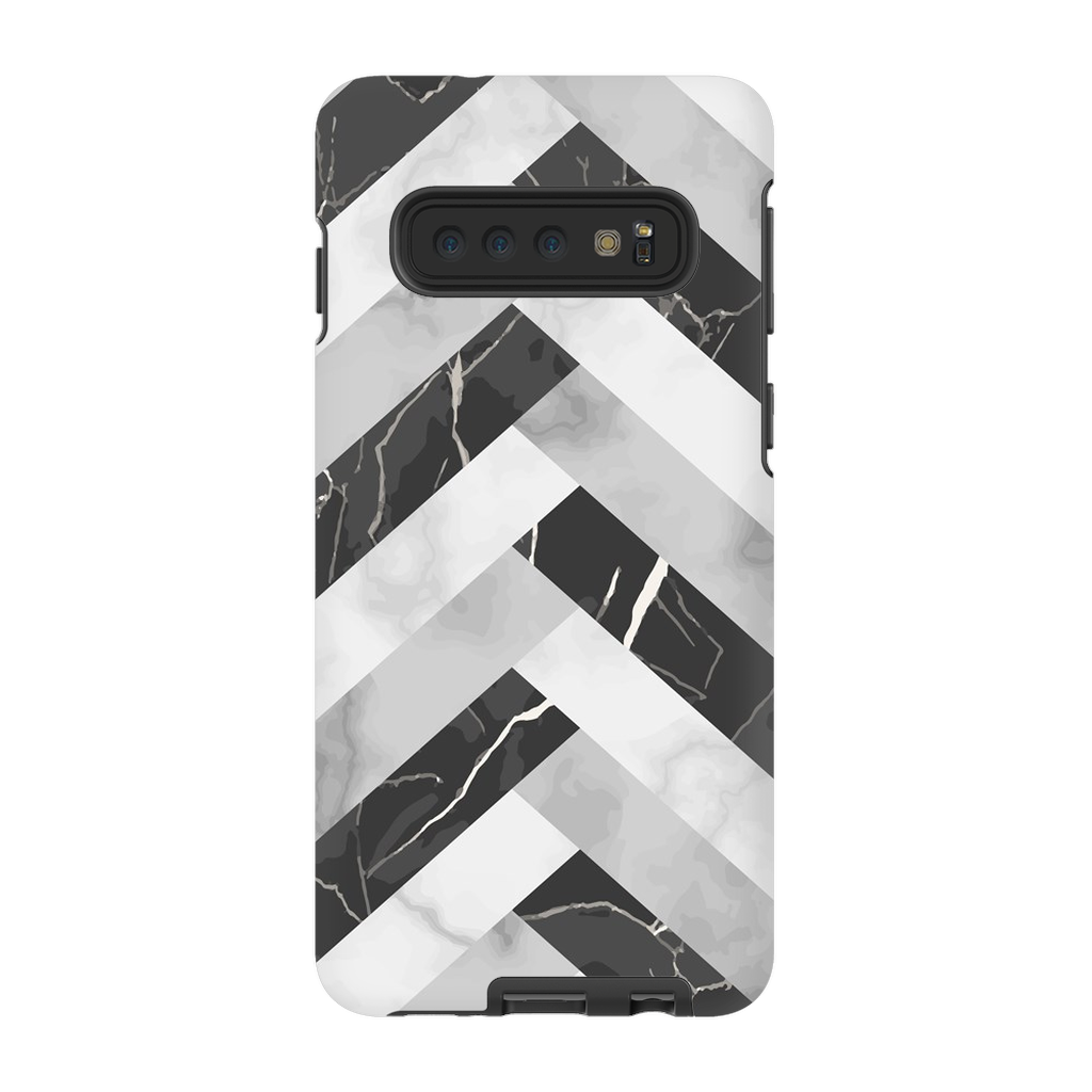 Abstract Grey Marble Galaxy S10 Series - Purdycase