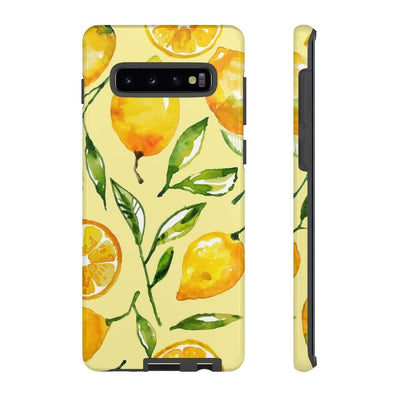 Yellow Lemon Galaxy 10 Series Tough Case